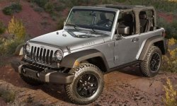 Jeep Wrangler в версии Rubicon