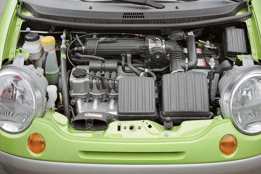 Двигатель Равон Matiz 2018