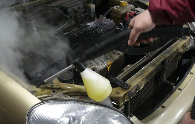 5 технологических этапов паровой мойки двигателя: преимущества и недостатки